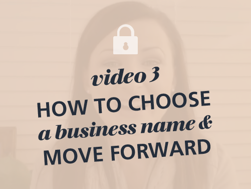 How To Choose The Perfect Business Name or Company Name Free Video Course