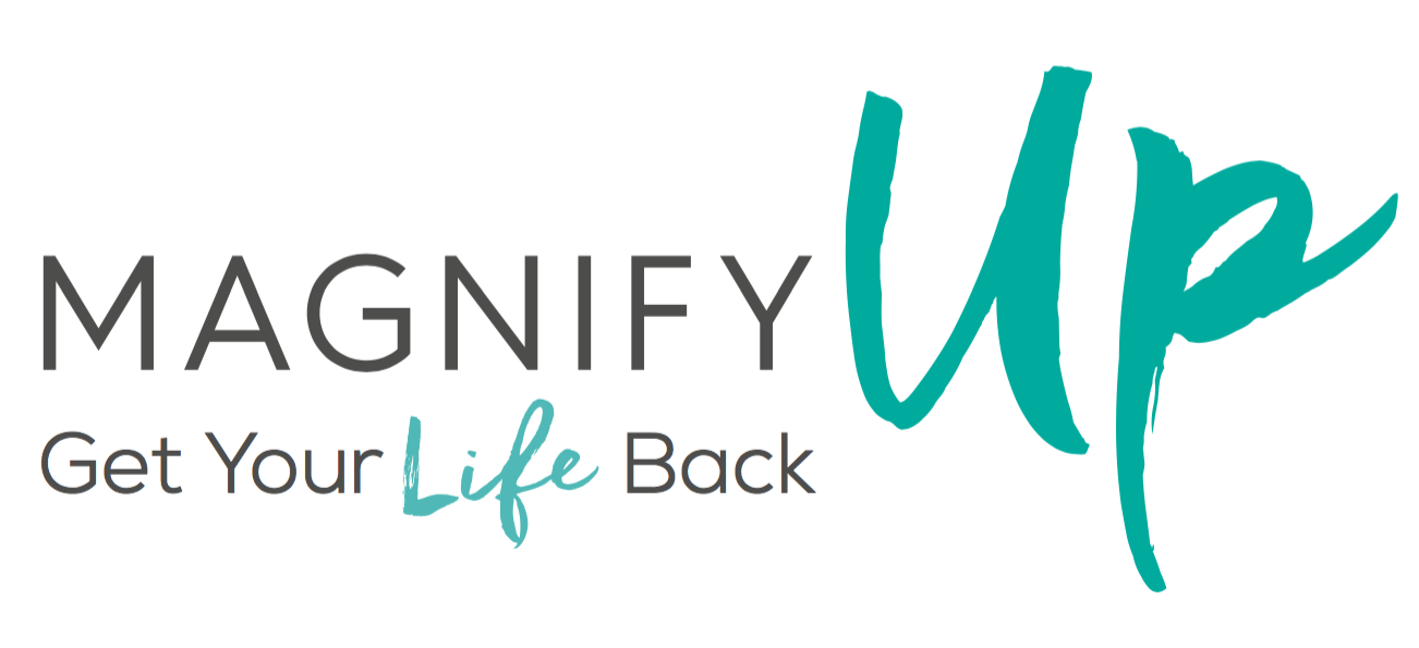 MagnifyUp Rebrand - Get Your Life Back